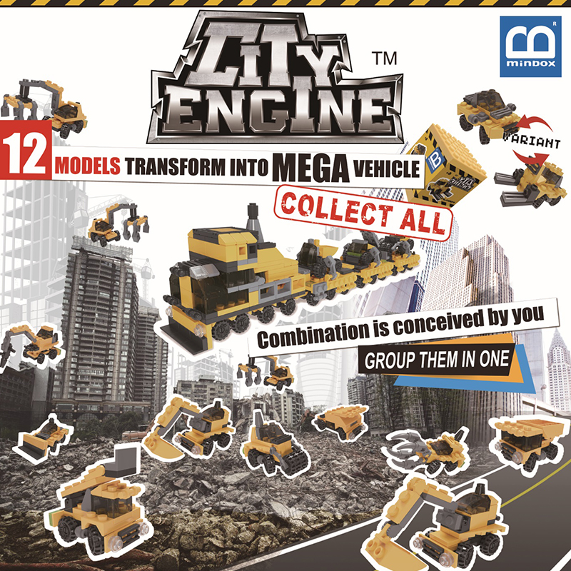 Construction Engine Team (CET) Box Set