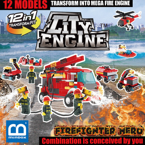 Fire Brigrade Engine (FBE) Box Set
