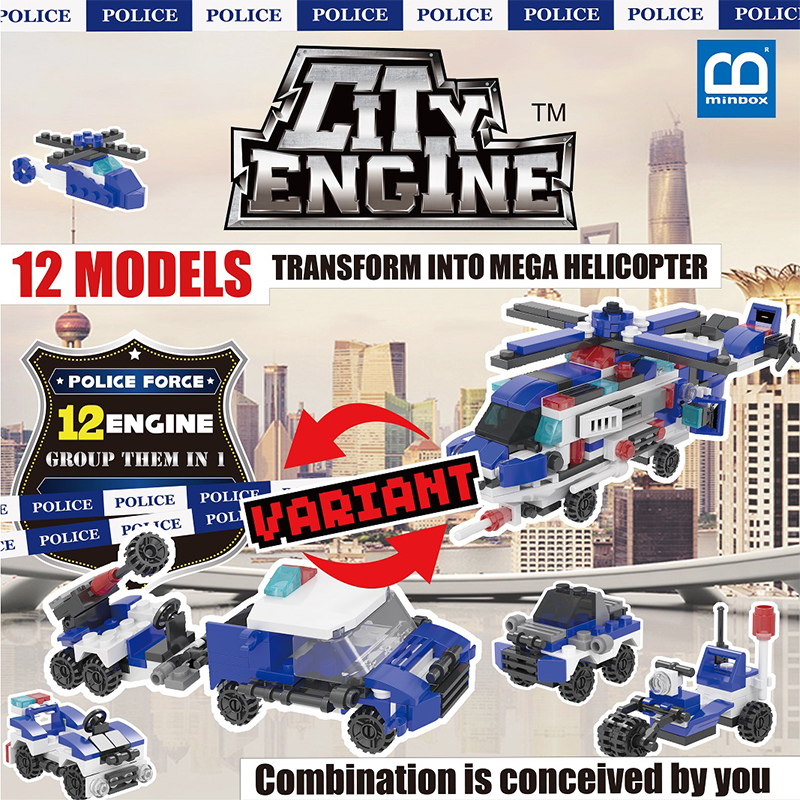 Police Force Engine (PFE) Box Set